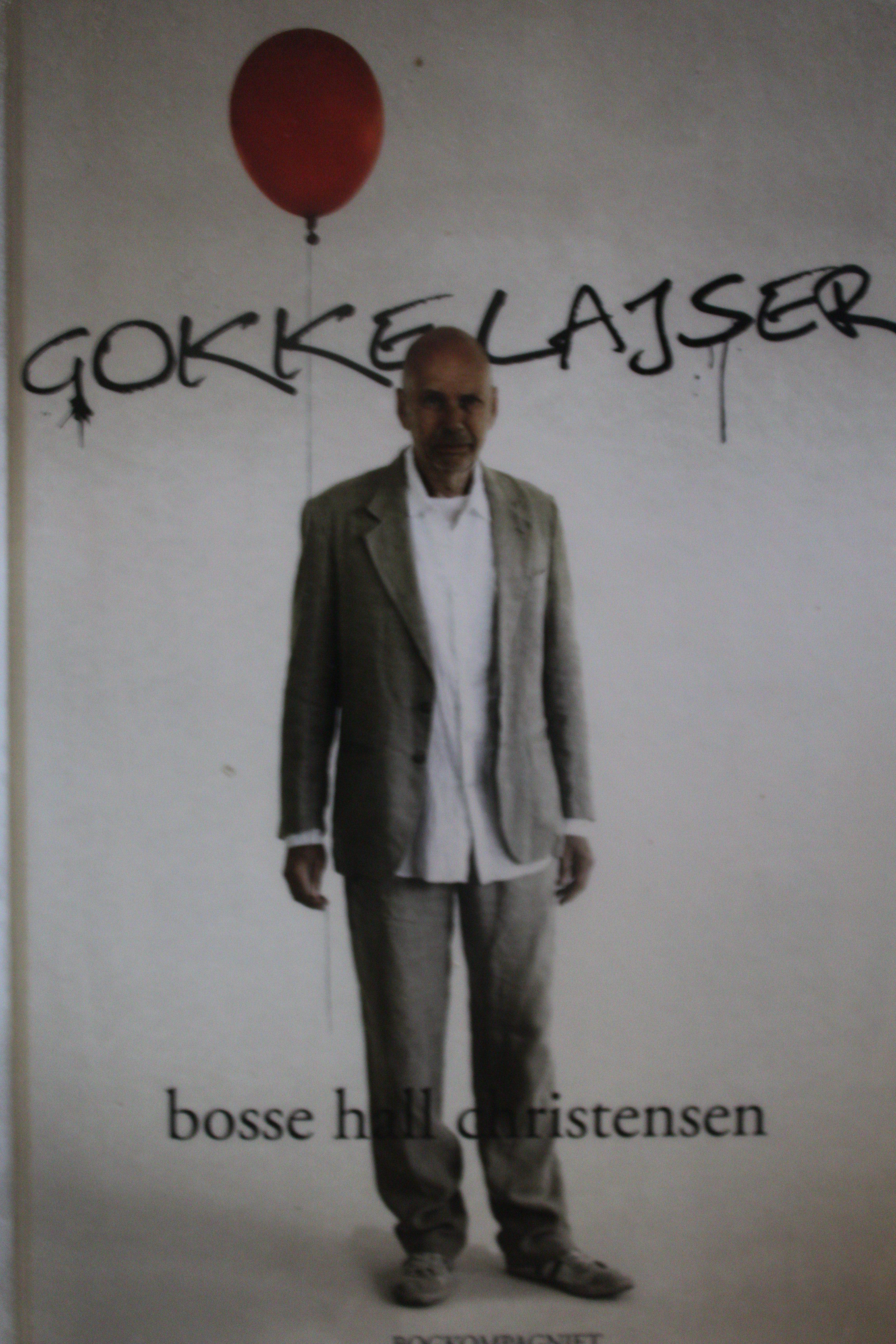 Gokkelajser forfatter Bosse Hall Christensen
