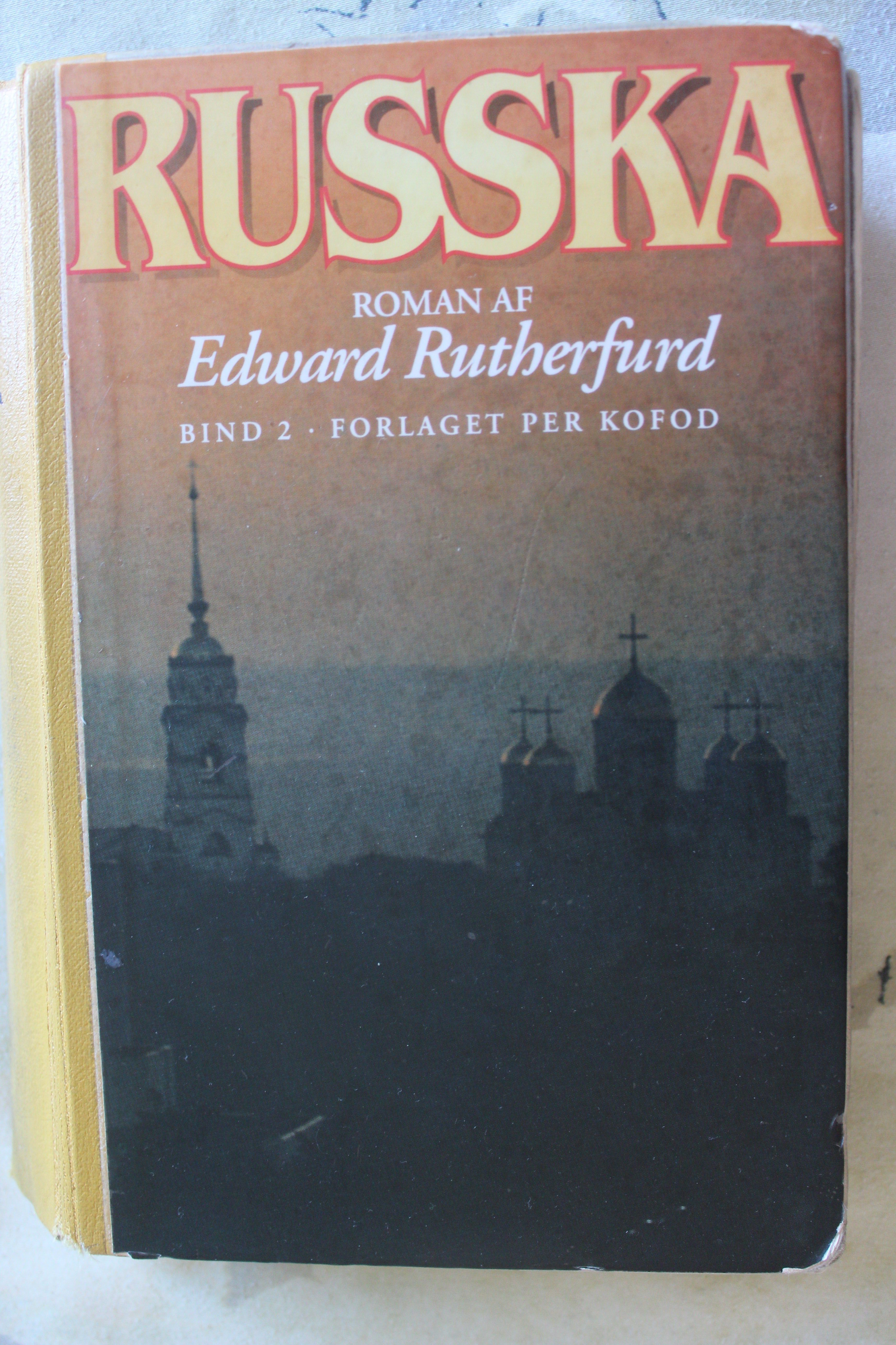 Boganmeldelse Russka Edward Rutherfurd