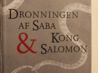 Boganmeldelse Dronningen af Saba og Kong Salomon Anne Lise Marstrand-Jørgensen